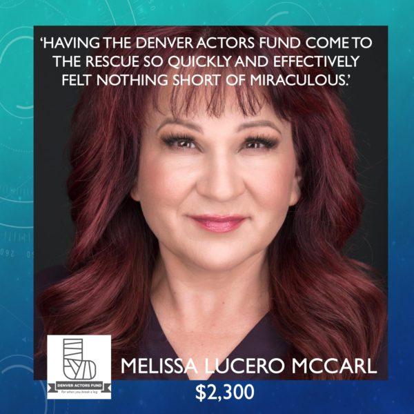 Melissa McCarl.